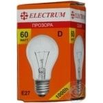 Лампа Electrum D55 60W Е27 A-ID-0870
