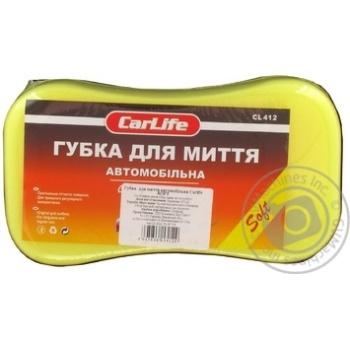 Губка для миття автомобіля з дрібними порами CarLife Soft - купити, ціни на Novus - фото 2