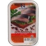 Fish herring Norven preserves 180g hermetic seal Ukraine