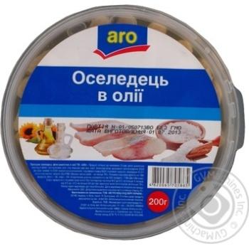 Сельдь Аро в масле 200г Украина