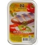 Fish herring Norven with paprika preserves 500g hermetic seal Ukraine