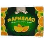 Мармелад Roshen желейный со вкусом цитрусовых апельсиновые и лимонные дольки 250г Украина