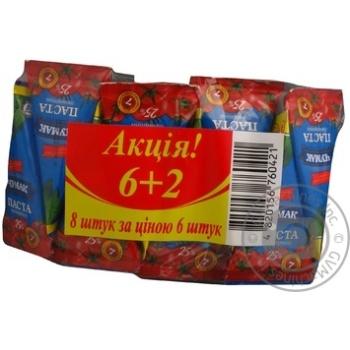 Томатная паста Чумак набор 6 + 2