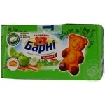 Sponge cake Barni with apple 720g Ukraine