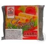 Сыр Файн Фуд плавленый с ветчиной ломтики 36.2% 130г Польша