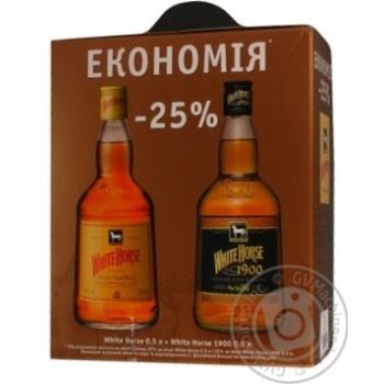 Виски Вайт хорс 40% 500мл стеклянная бутылка