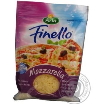 Сыр Арла моцарелла тертый 40% 200г Дания