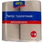 Туалетная бумага Аро 4шт Украина