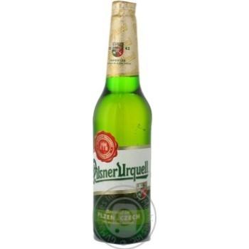 Пиво Pilsner Urquell светлое 4.4% 500мл