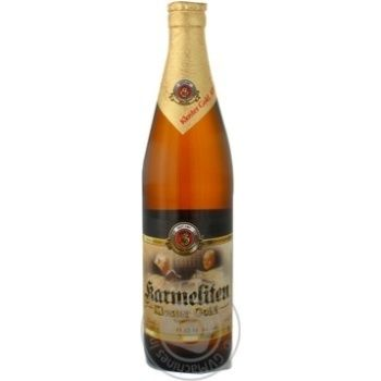 Пиво Кармелитен Клостер Голд светлое монастырское стеклянная бутылка 5.1% 500мл Германия