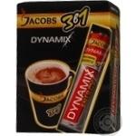 Напиток кофейный Jacobs 3в1 Dynamix растворимый в стиках 13г х 21шт