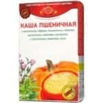 Wheat porridge Golden Kings with ground pumpkin seeds ground sesame seeds and flaxseeds quick-cooking 320g Ukraine