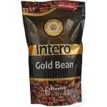 Natural roasted coffee beans Intero Gold Bean 250g Ukraine