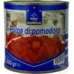 Vegetables tomato Horeca select canned 2550g can Italy