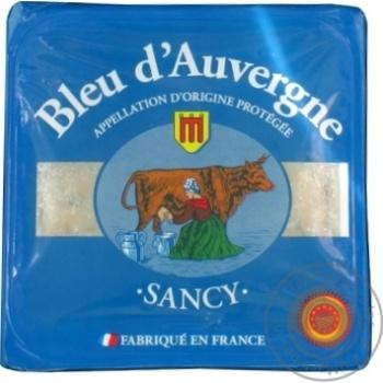 Cheese bleu d'auvergne soft 45% 125g France
