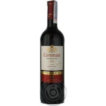 Вино Torres Coronas Tempranillo червоне сухе 13,5% 0,75л - купити, ціни на МегаМаркет - фото 4