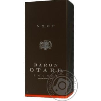 Коньяк Baron Otard V.S.O.P. 40% 0.7л - купить, цены на МегаМаркет - фото 3