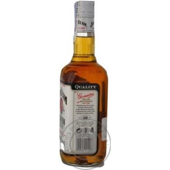 Whiskey Jim Beam White Bourbon 40% 0,7l - buy, prices for Auchan - photo 2