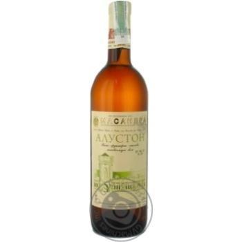Вино біле напівсолодке Алустон 0,75 л