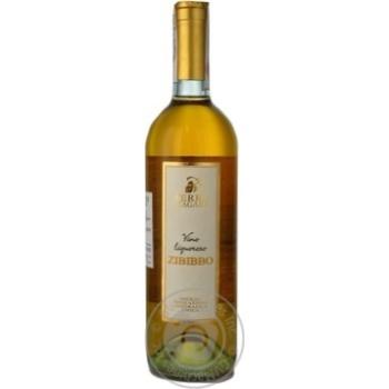 Вино Terre di Zagara Zibibbo белое сладкое 16% 0,75л