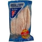 Филе хека Флагман замороженное без кожи 700г