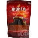 Кофе Жокей Триумф арабика растворимый сублимированный 170г Россия