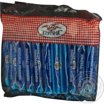 Конфеты Доминик мороженые трубочки 500г Украина