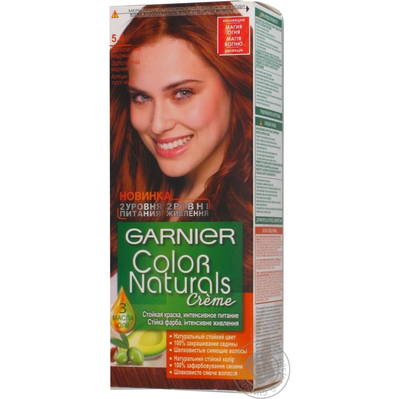 Cream-paint Garnier golden copper for hair → Hygiene → Hair care ...
