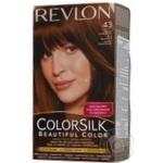 Color Revlon Color silk medium golden chestnut ammonia free for hair