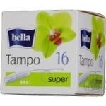 Тампони гігієнічні без аплікатора Tampo Bella Super 16шт