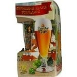 Beer Zatecky gus 500ml glass bottle
