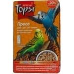 Корм вітамінізований для хвилястих папуг Просо Topsi 550г