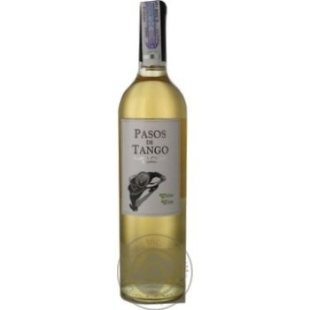 Passos de Tango White Dry Wine 0.75l - buy, prices for Furshet - image 1