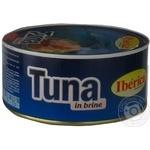 Fish tuna Iberica in own juice 1000g can Spain