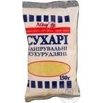 Rusks Lider corn for baking 150g Ukraine