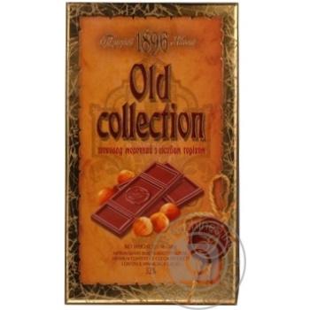 Шоколад Бисквит-Шоколад Old Collection молочный с лесным орехом 32% 200г