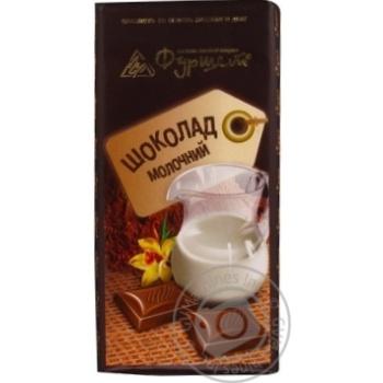 Шоколад молочный в плитках 30% 85г Украина