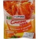 Spices Torchyn Smachna ideya honey for wings 30g Ukraine