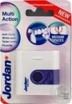 Зубні флоси відбілюючий з фтором попередження зубного каменю Jordan Multi Action floss 25м
