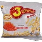 Сухарики Три корочки пшенична червона ікра 90г Україна