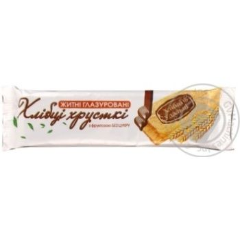 Crispbread Hlebtsy-udal'tsy rye on fructose for diabetics 30g Ukraine