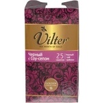 Black pekoe tea Vilter with Soursop Ceylon 25x2g teabags