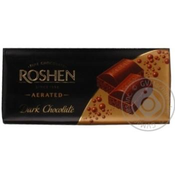 Roshen air dark chocolate 80g - buy, prices for Furshet - image 5