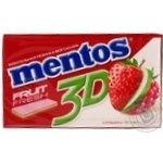 Жвачка Ментос яблоко 33.6г Турция