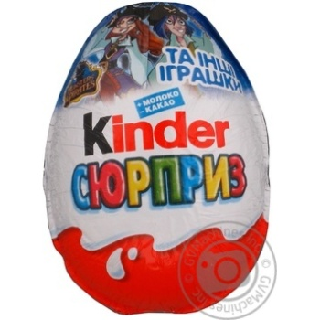 Kinder Surprise Egg Chocolate 20g - buy, prices for Furshet - image 1