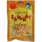 Snack squid Tepli morya dried 30g sachet Ukraine