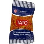 Corn chips Tato with salt and spices 60g Ukraine