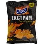 Чипсы Люкс Экстрим со вкусом горчицы 140г Украина