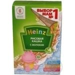 Baby rice porridge with milk Heinz for 4+month babies 250g Russia