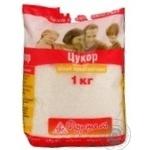 Сахар белое кристаллический 1000г полиэтиленовый пакет Украина